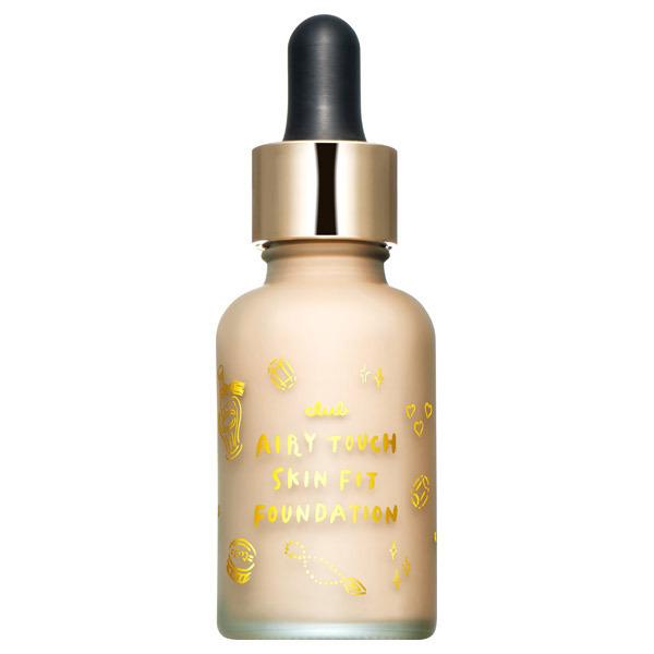 エアリータッチ スキンフィット ファンデーションセラム / ライトベージュ / 28ml / ラ・フランスの香り