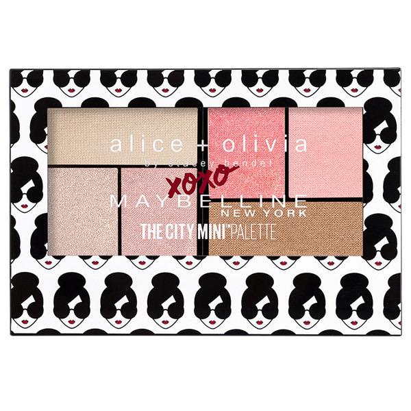 メイベリン シティミニパレット / alice+olivia 限定コレクション / AO-S1 / 6.1g
