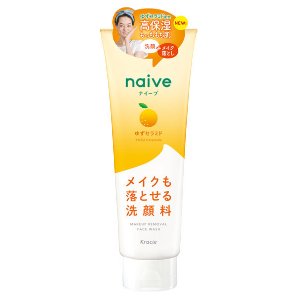 メイク落とし洗顔フォーム(ゆずセラミド配合) / 200g / もぎたてのみずみずしいゆずの香り