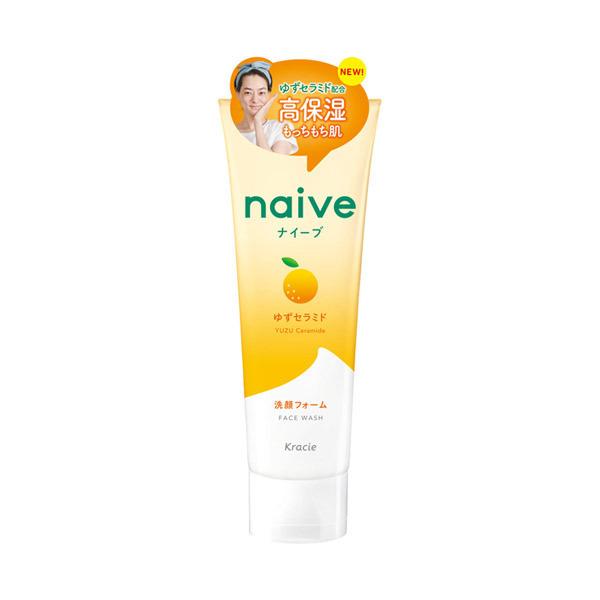 ナイーブ 洗顔フォーム(ゆずセラミド配合) / 130g / もぎたてのみずみずしいゆずの香り