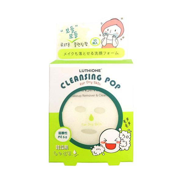 ルチオン モチモチ クレンジングポップ (乾燥肌)〈洗顔料〉 / 10枚