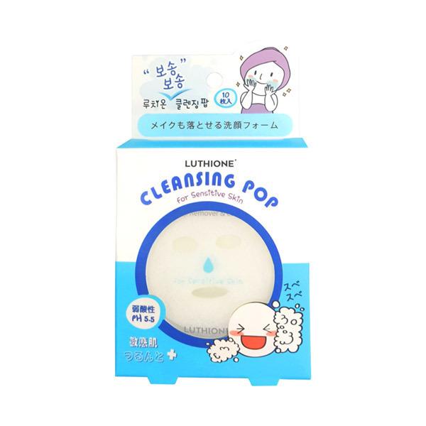 ルチオン スベスベ クレンジングポップ (敏感肌)〈洗顔料〉 / 10枚