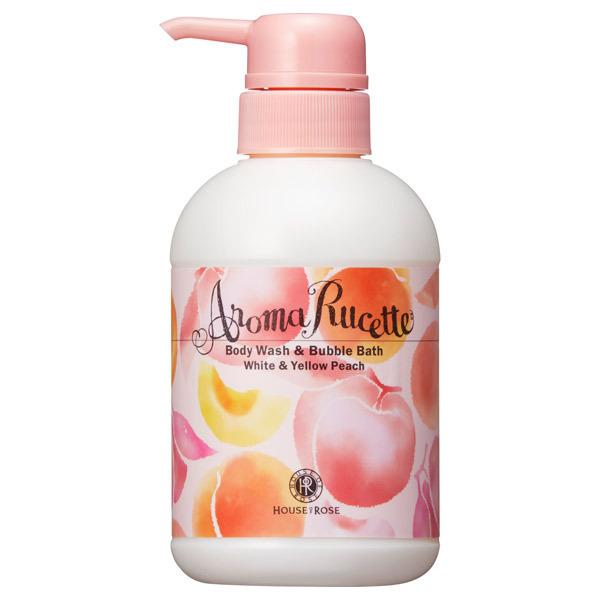 【数量限定】アロマルセット ボディウォッシュ&バブルバス WP&YP (ホワイト&イエローピーチの香り) / 350ml / ホワイト&イエローピーチの香り