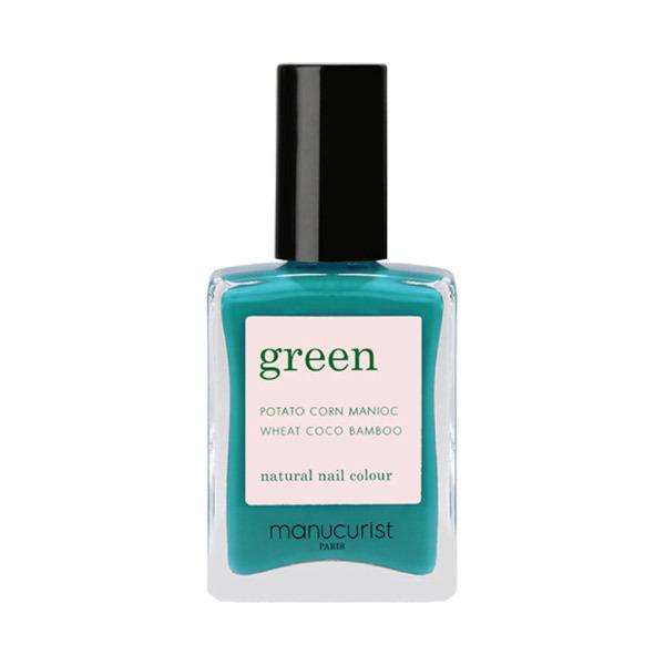 グリーン ナチュラルネイルカラー / カライブ 31053 / 15ml
