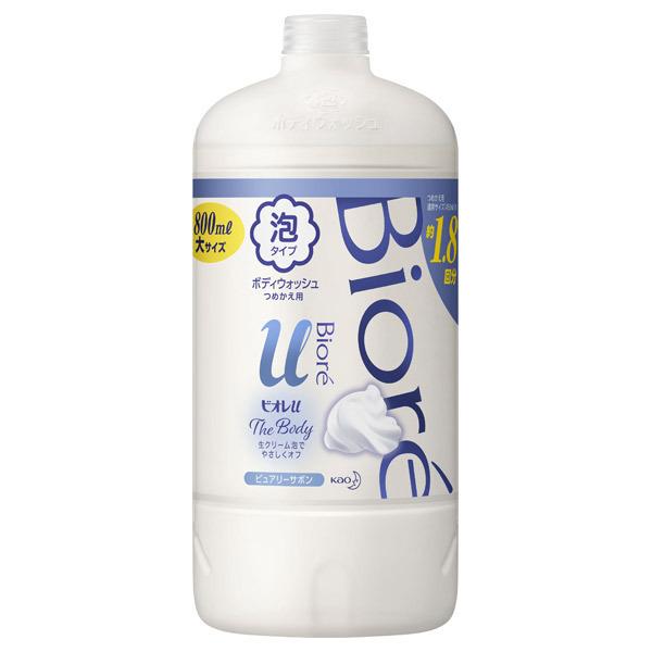 ザ ボディ 泡タイプ 清潔感のあるピュアリーサボンの香り / 詰替え / 800ml / ピュアリーサボンの香り