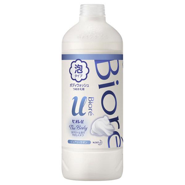 ザ ボディ 泡タイプ 清潔感のあるピュアリーサボンの香り / 詰替え / 450ml / ピュアリーサボンの香り