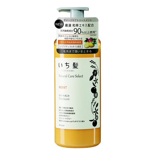 ナチュラルケアセレクト モイスト トリートメント / 本体 / 480g / シトラスフローラルの香り