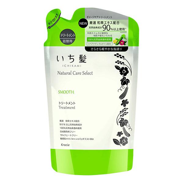 ナチュラルケアセレクト スムース トリートメント / 詰替用 / 340g / ハーバルグリーンの香り