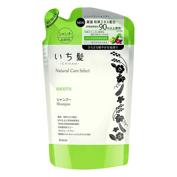 ナチュラルケアセレクト スムース シャンプー / 詰替用 / 340ml / ハーバルグリーンの香り