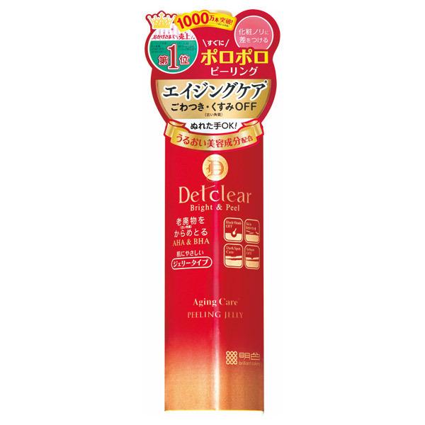 DETクリア ブライト&ピール ピーリングジェリー <エイジングケアタイプ> / 180ml
