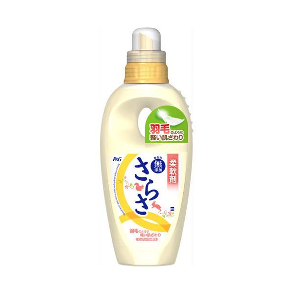 ふんわりさらさ 衣料用柔軟剤 / 本体 / 600ml