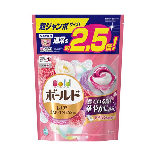 ボールドジェルボール3D 癒しのプレミアムブロッサムの香り / 詰替え 超ジャンボサイズ / 44個 / 癒しのプレミアムブロッサムの香り