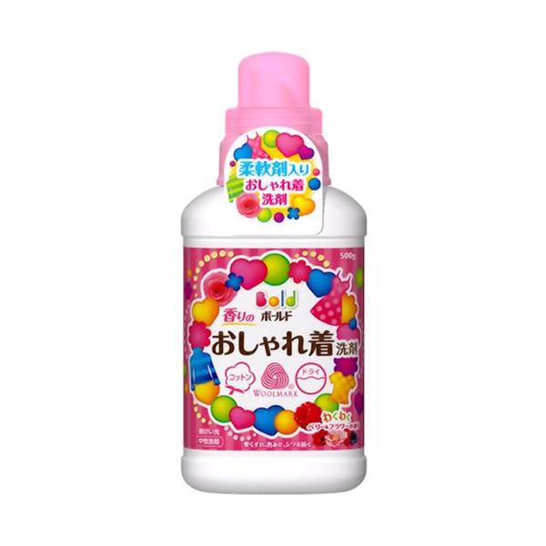 ボールド 香りのおしゃれ着洗剤 / 本体 / 500g / わくわくベリー&フラワーの香り