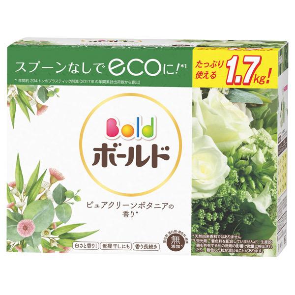 ボールド プラチナクリーン粉末 ピュアクリーンボタニアの香り / 本体 / ラージサイズ / 1700g / ピュアクリーンボタニアの香り