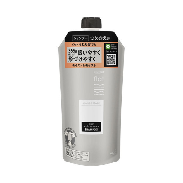 くせ・うねりメンテナンスシャンプー(モイスト&モイスト) / 詰替え / 340ml / リフレッシュフローラルの香り
