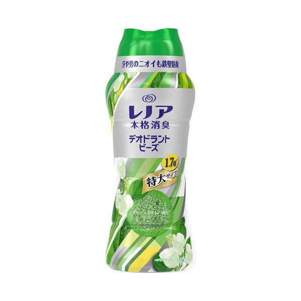 レノア本格消臭 デオドラントビーズ グリーンミスト / 本体 / 885ml / グリーンミストの香り
