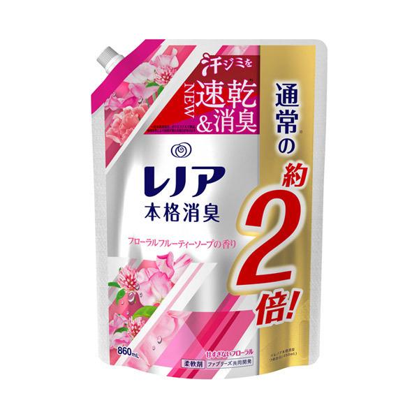 レノア本格消臭 フローラルフルーティーソープの香り / 詰替え / 860ml / フローラルフルーティーソープの香り