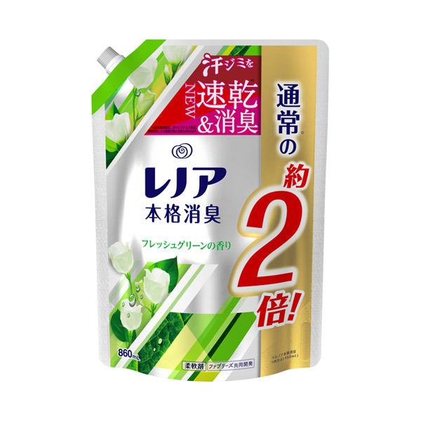 レノア本格消臭 フレッシュグリーンの香り / 詰替え / 860ml / フレッシュグリーンの香り