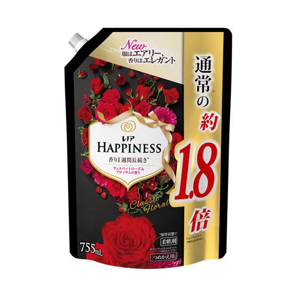 レノアハピネス ヴェルベットローズ&ブロッサム / 詰替え / 755ml 特大サイズ / ヴェルヴェットローズ&ブロッサムの香り