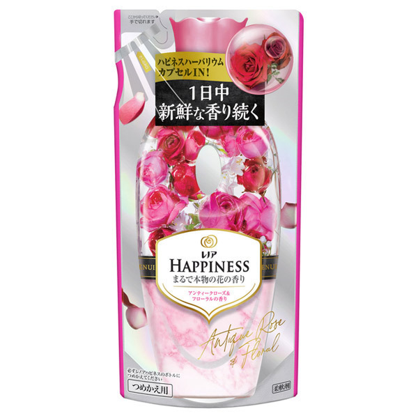 レノアハピネス  アンティークローズ&フローラル / 詰替え / 430ml / アンティークローズ&フローラルの香り