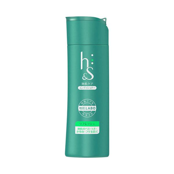 リフレッシュシリーズ 地肌と髪のコンディショナー / ボトル / 190g / すっきり爽やかな果実と、上品な花々の香り