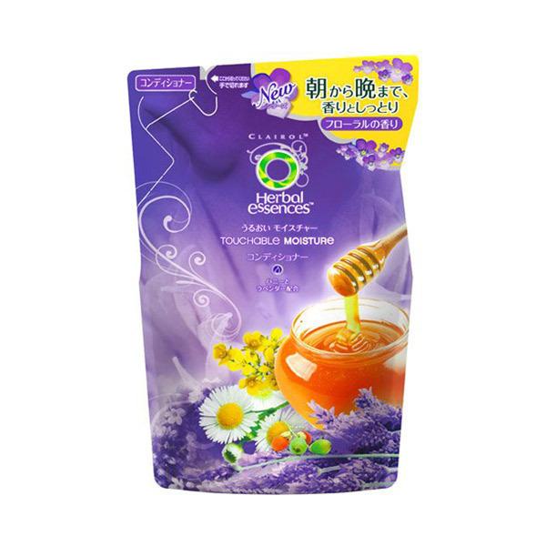 うるおいモイスチャー コンディショナー / 詰替え / 340g / ソフトでクリーミーなフローラルの香り