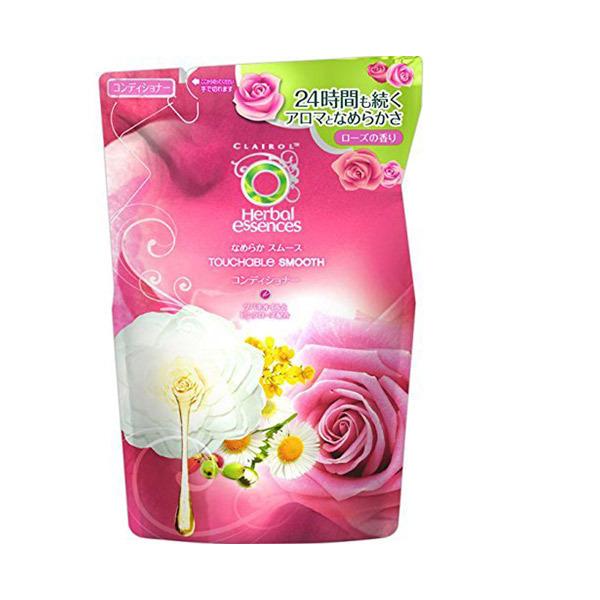 なめらかスムース コンディショナー / 詰替え / 340g / 甘く優しいローズの香り