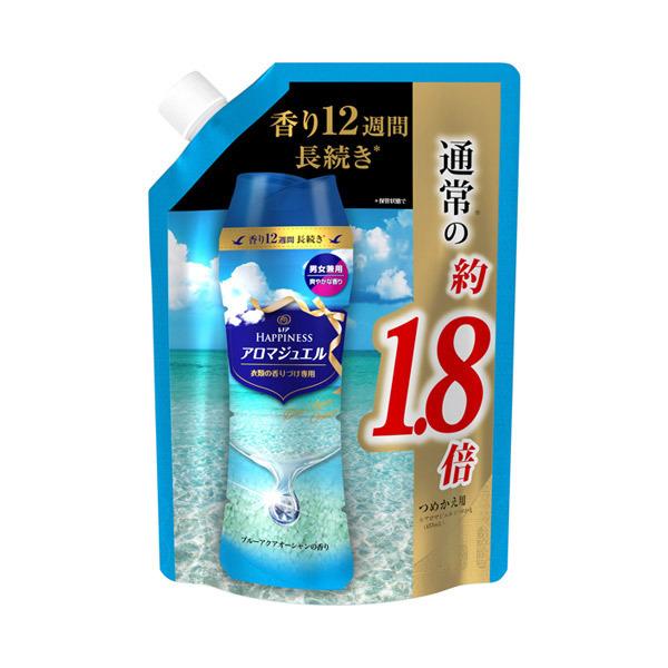 ノアハピネス アロマジュエル アクアオーシャンの香り / 詰替え / 805ml 特大サイズ / ブルーアクアオーシャンの香り