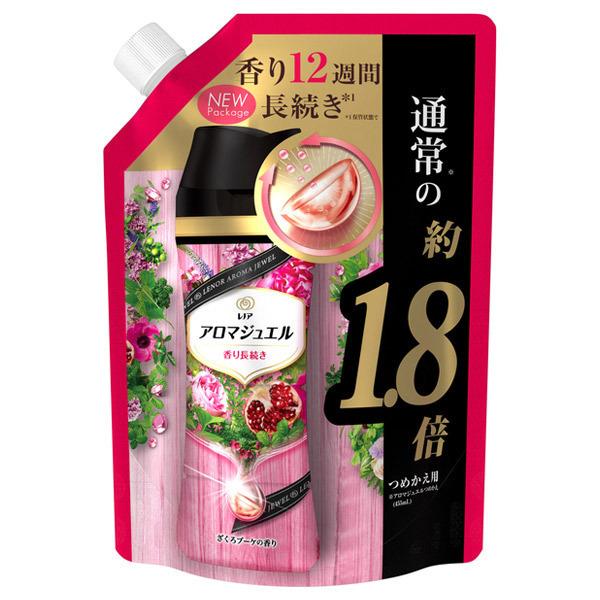 レノアハピネス アロマジュエル ざくろブーケの香り / 詰替え / 805ml 特大サイズ / ざくろブーケの香り