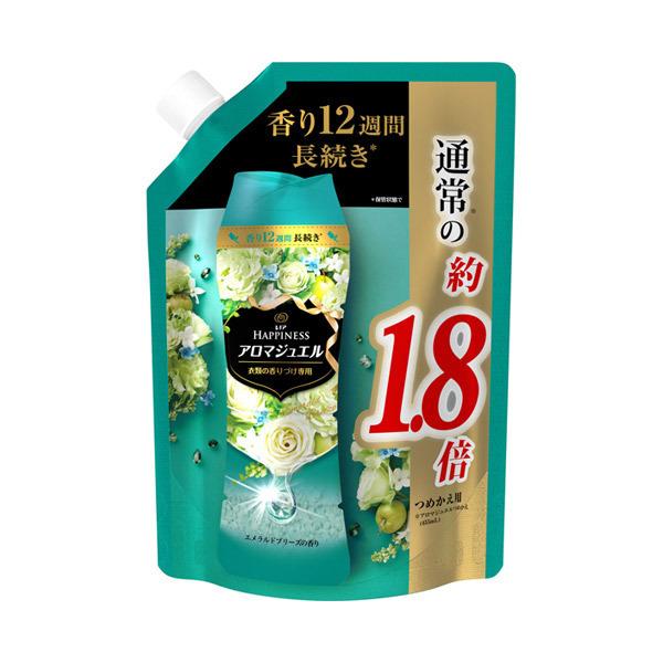 レノアハピネス アロマジュエル エメラルドブリーズの香り / 詰替え / 805ml 特大サイズ / エメラルドブリーズの香り