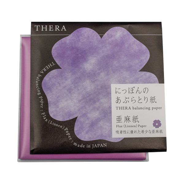 にっぽんのあぶらとり紙亜麻 / 本体 / 紫 / 50枚 / 紫