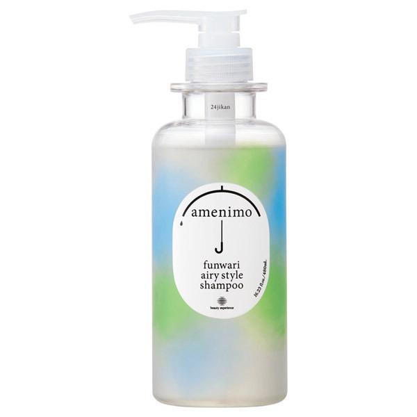 ふんわりエアリースタイル シャンプー / 本体 / 480mL / リーフィーフローラルの香り