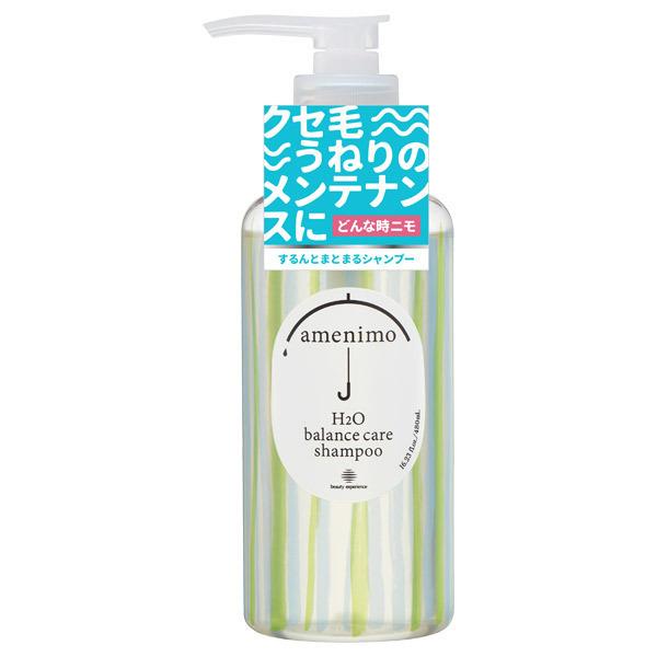 H2O バランスケア シャンプー / 本体 / 480mL / リーフィーローズの香り
