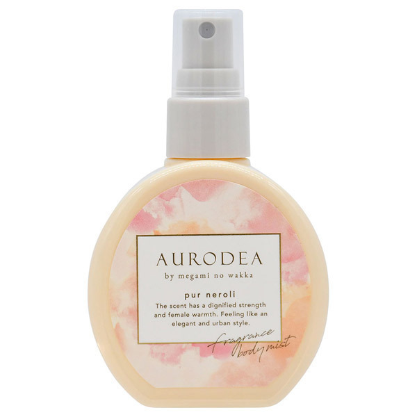 AURODEA by megami no wakka fragrance body mist pur neroli / 本体 / 100ml