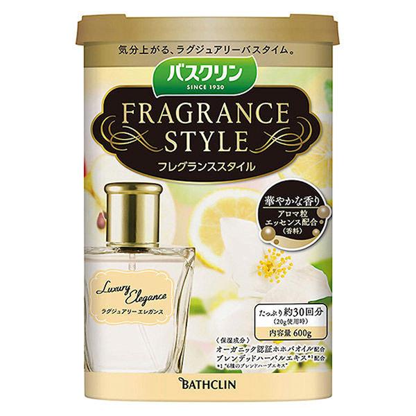 バスクリン フレグランススタイル ラグジュアリーエレガンス / 600g / フローラルムスクの香り