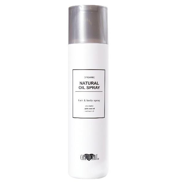 オーガニック ナチュラルオイルスプレー / 本体 / 120g / ベルガモットとオレンジのシトラスフルーティな香り。