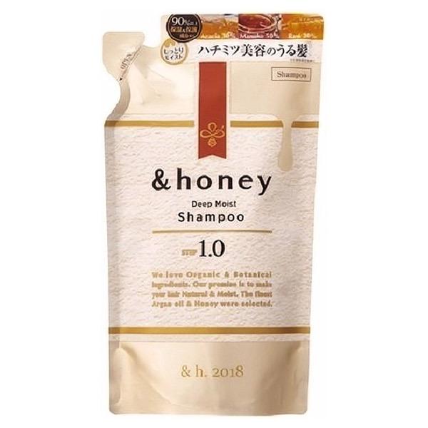 ディープモイスト シャンプー1.0 / 詰替 / 350ml / ピオニーハニー