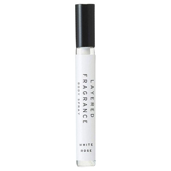 ボディスプレー ホワイトローズ / 本体 / 10ml / ホワイトローズの香り