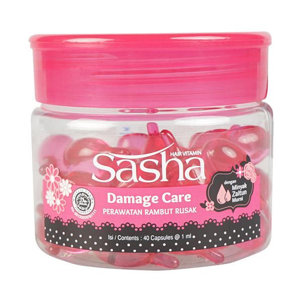 Sasha(サーシャ) ダメージケアヘアオイル ボトルタイプ / 1ml×40