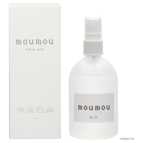 mou mou ピローミスト / 本体 / シルク / 100ml