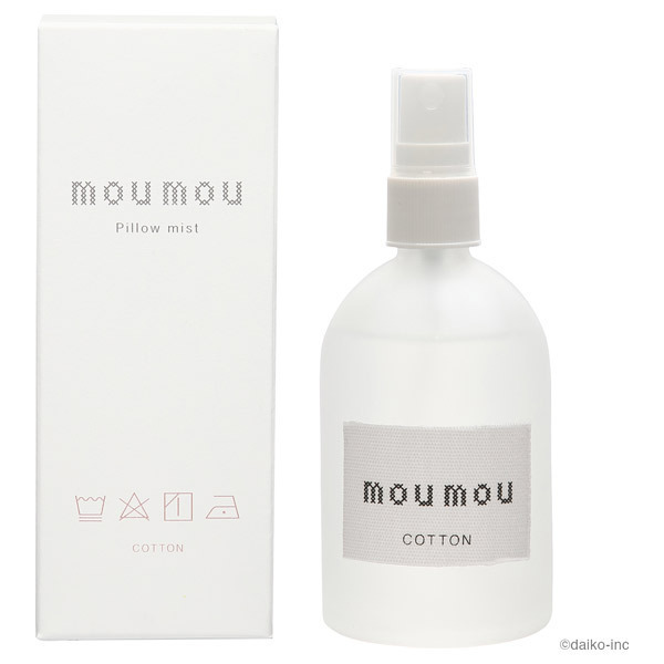 mou mou ピローミスト / 本体 / コットン / 100ml