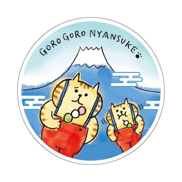 フルプル(R)クリーム / 本体 / ごろごろにゃんすけ 富士山 / 20g / 天然ローズの香り