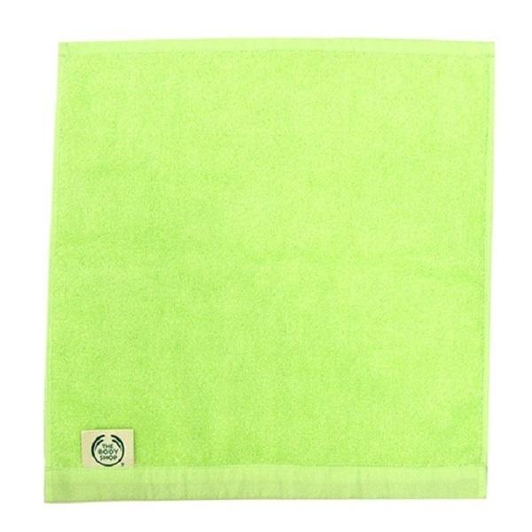 オーガニックコットンハンドタオル / グリーン / 縦35×横34cm