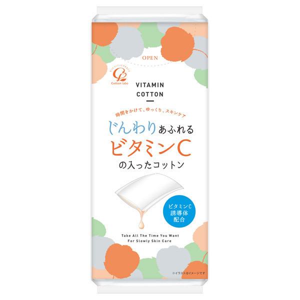 じんわりあふれるビタミンCコットン / 40枚