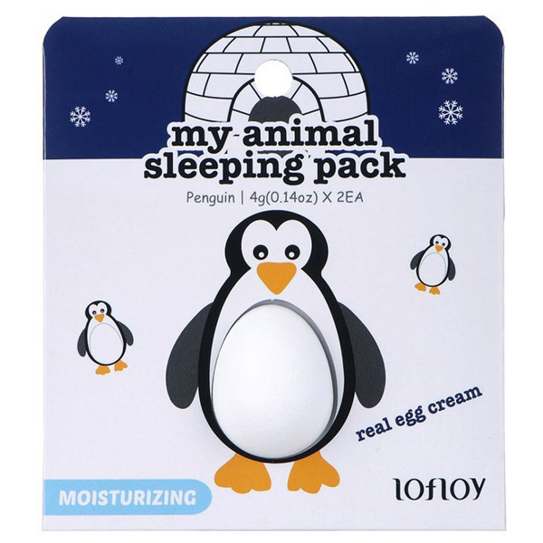 ロフロイ アニマルスリーピングパック ペンギン / 本体 / 4g×2