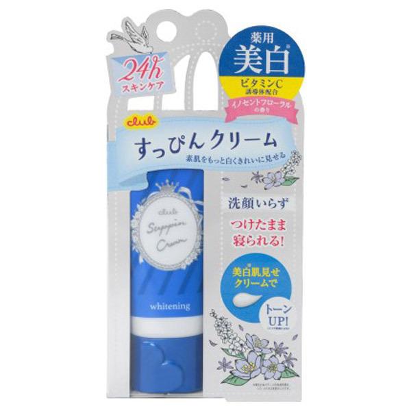 すっぴん ホワイトニングクリーム / 本体 / 30g / イノセントフローラルの香り