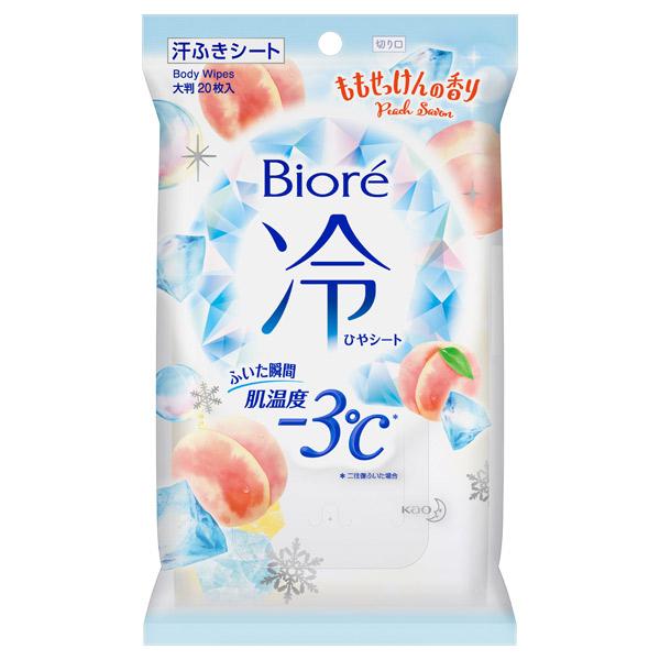 冷シート ももせっけんの香り / 20枚 / 本体