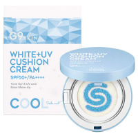 WHITE +UV CUSHION CREAM #COOL / SPF50+ / PA++++ / 本体 / 15g