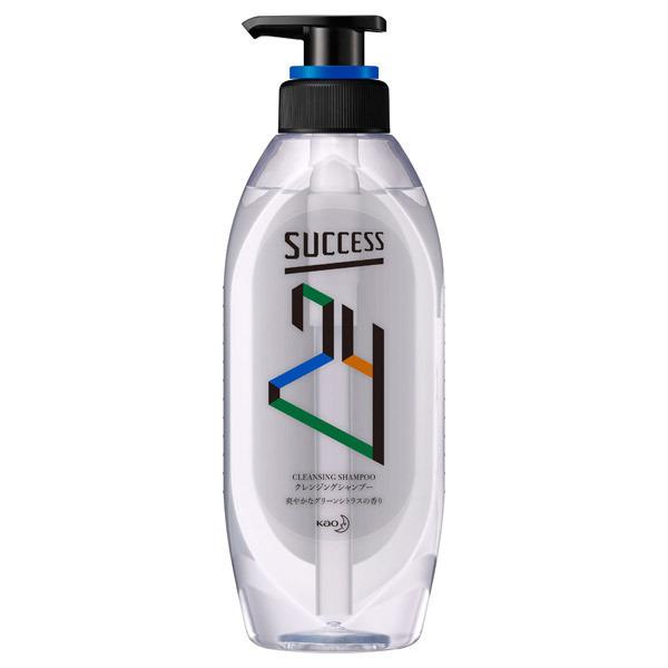 サクセス24 クレンジングシャンプー / 本体 / 350ml / グリーンシトラスの香り