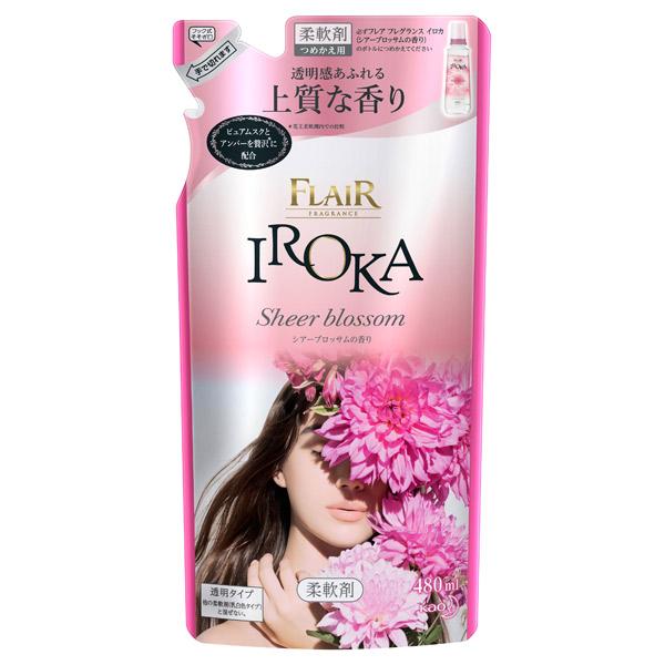 フレアフレグランスIROKA シアーブロッサム / 詰替え / 480ml / シアーブロッサムの香り